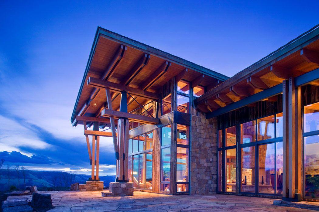 Chalet de montagne l architecture moderne dans l tat de - Chalet de montagne luxe rkd architecte ...
