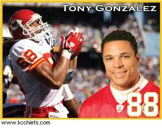 Free Shipping! {24 inches X 36 inches} Tony Gonzalez Poster #1