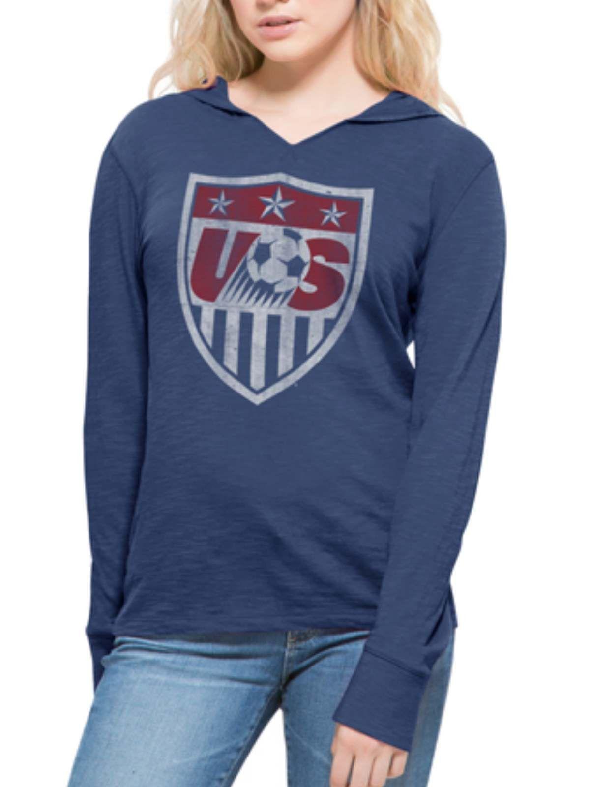 USA United States Soccer Team 47 Brand Women Blue