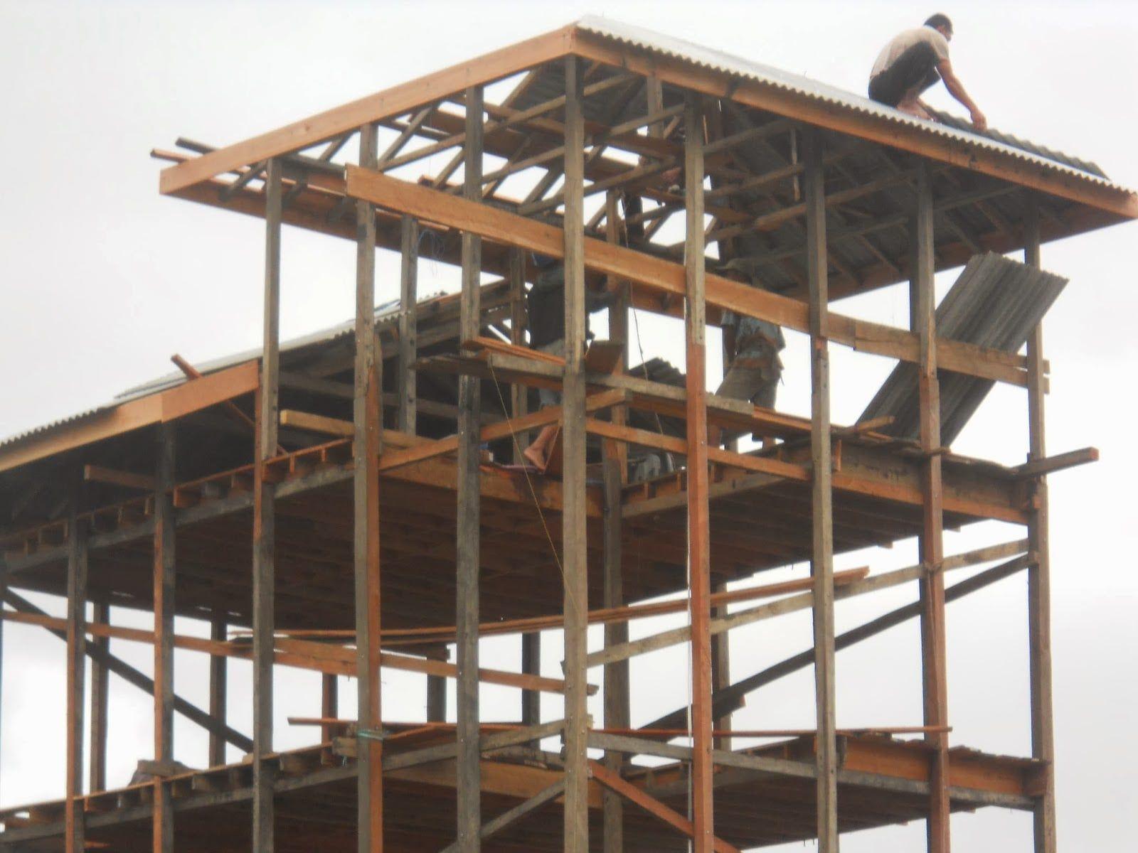 Desain Rumah Walet Kalimantan Rumah Burung Rumah Kayu Rumah