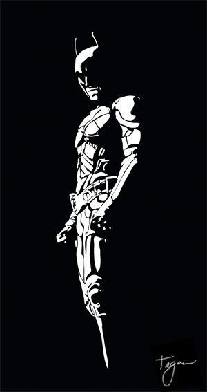 the dark knight rises by tegan holcombe stencil pinterest