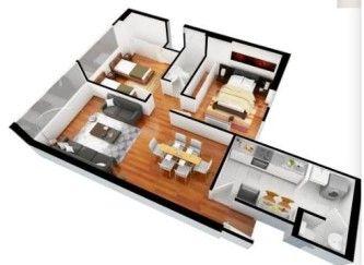 Perfect Tipos De Plantas De Casas De 120m2 3d