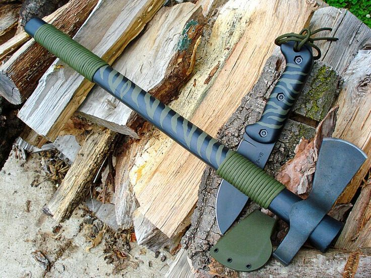 """Cold Steel 90TH Trail Hawk 22/"""" Black Coated Axe"""
