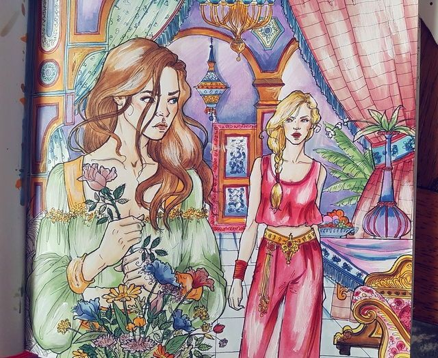 Pin By Jessica Chamberlin On Acotar Acomaf Acowar Coloring Books