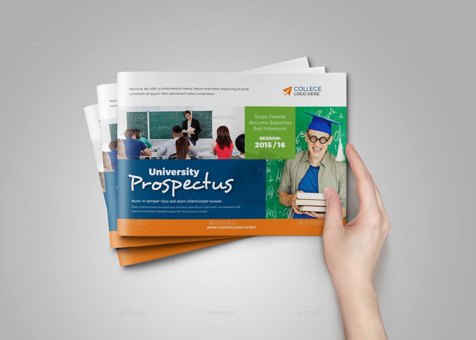 college university prospectus brochure v4  university   college   prospectus   brochure