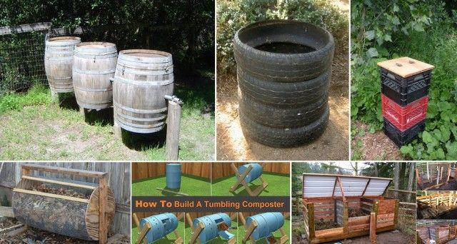 12 DIY Compost Bin Ideas | Garden compost, Compost ...