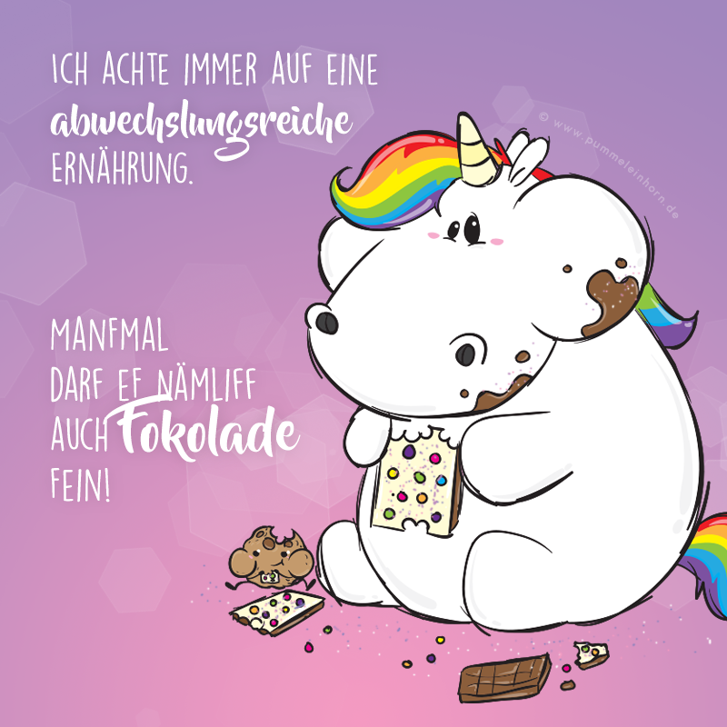 Abwechslungsreiche Ernhrung Pommel Einhorn Pinterest Unicorns Poem And Thoughts