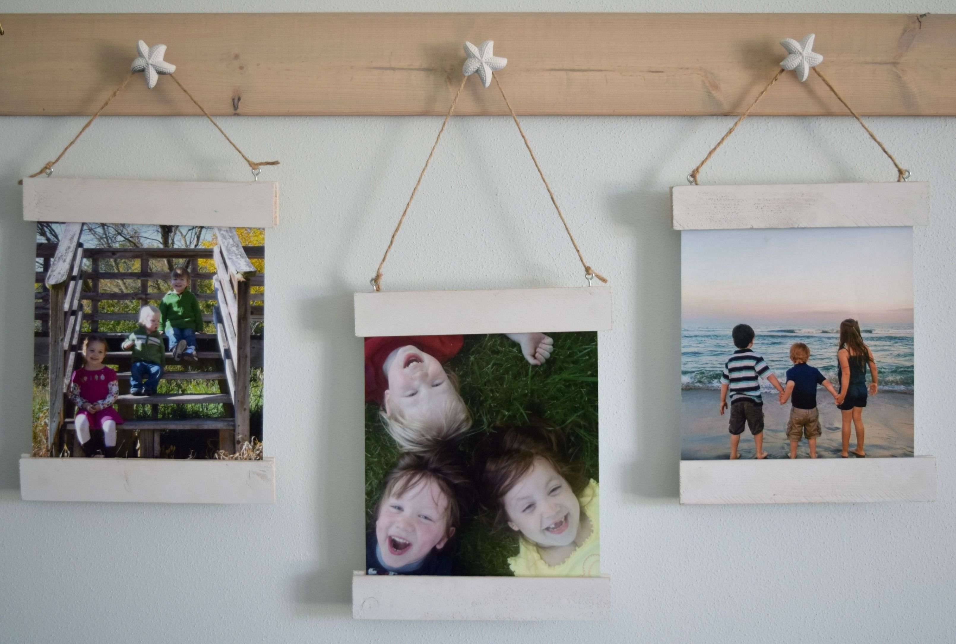 Diy Wood Scrap Picture Display With Magnet Frame With Tutorial