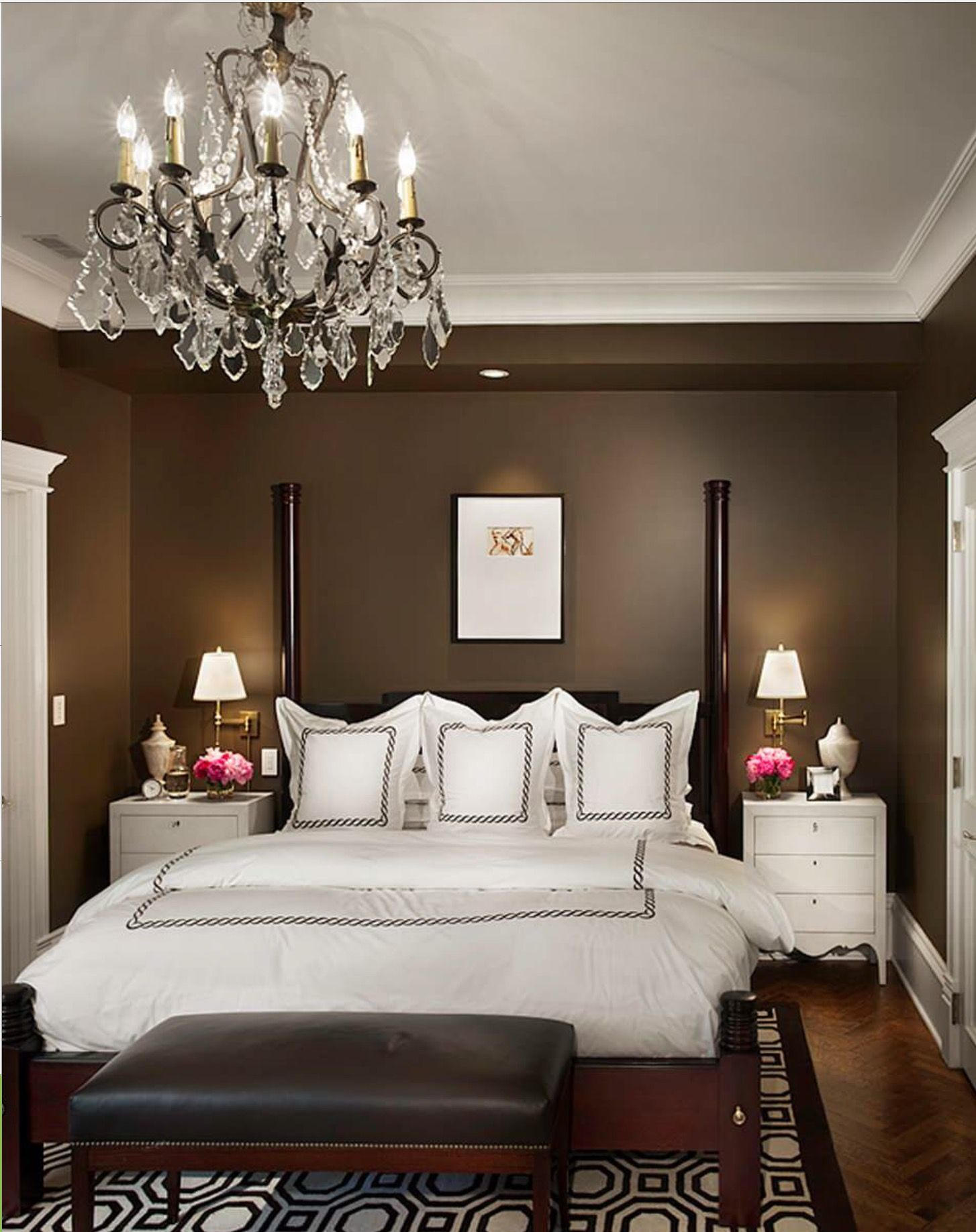 Gorgeous Ideas For Small Bedrooms The Correct Choice Of Colors,