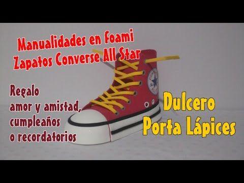 Zapatos en foami Tenis Converse All Star para dulcero pisa