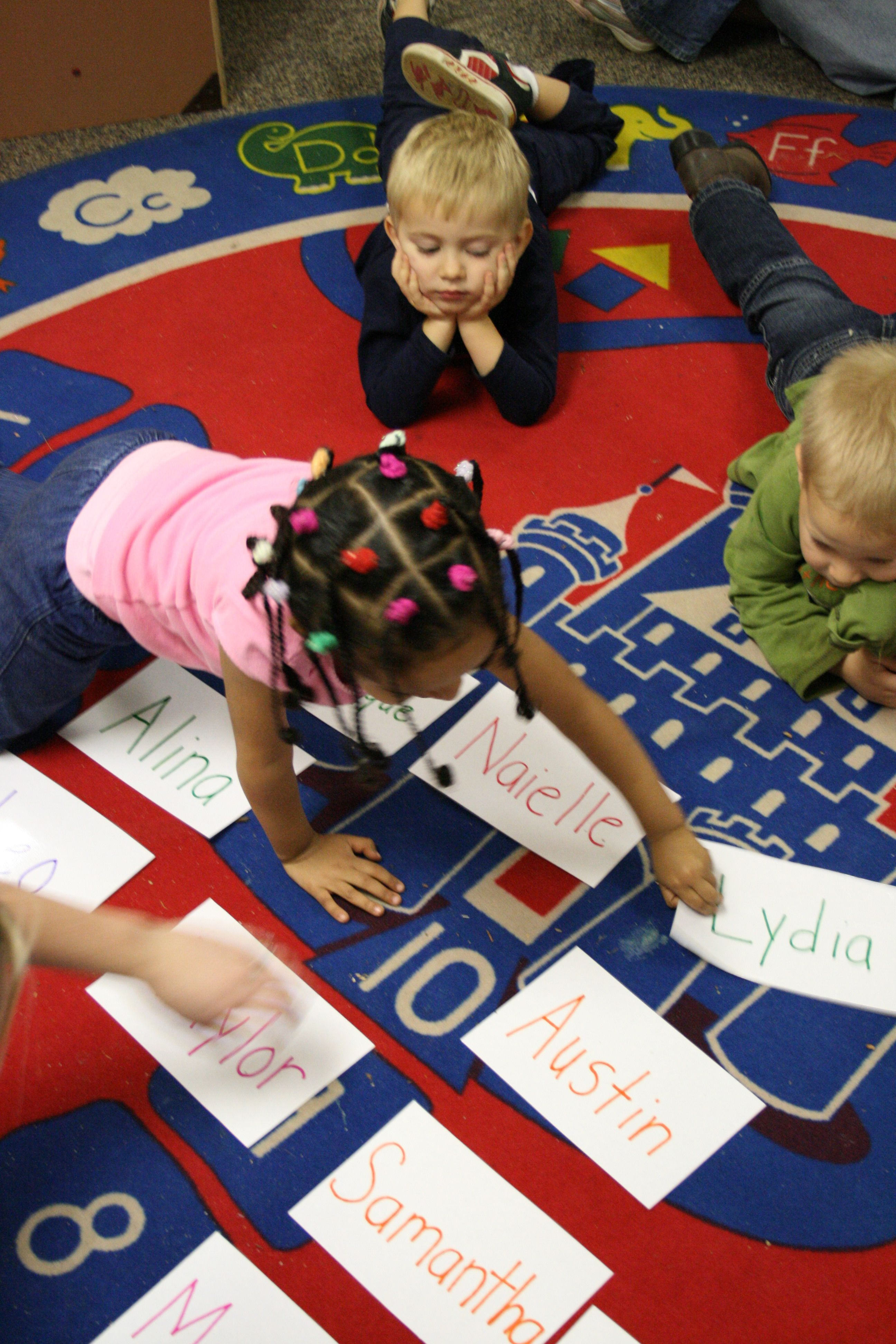 Name Recognition and Circle Time Game for Preschool Name