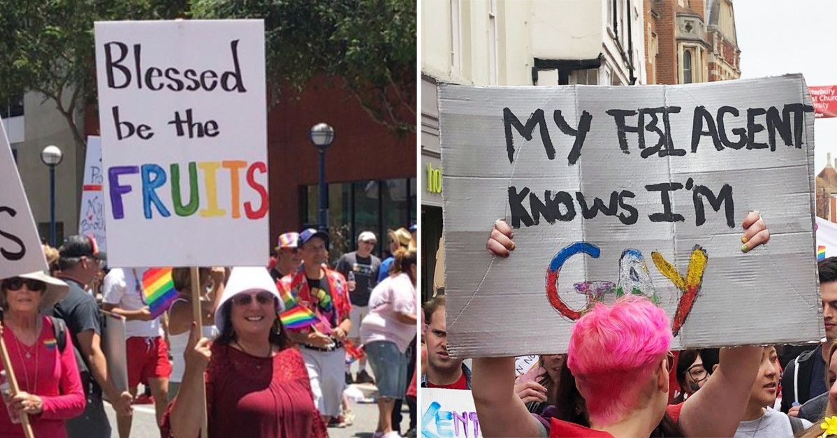 Pin On Pride Signs