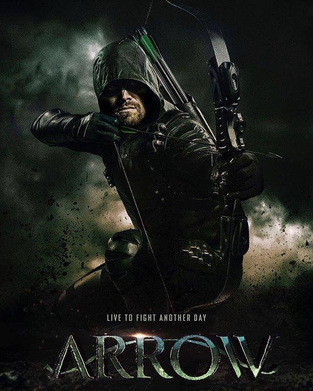 Arrow Season 6 Arrow Tv Stephen Amell E Arqueiro Verde Serie