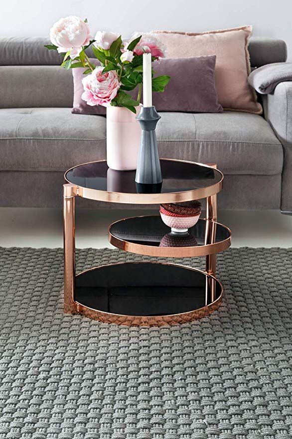 AFFILIATELINK FineBuy Design Couchtisch Circle ø 45cm