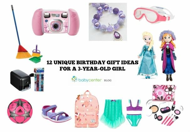 3 Year Old Birthday Gift Ideas