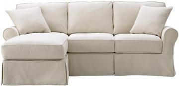 Mayfair Slipcovered Sofa With Chaise Home Decor Inspiration