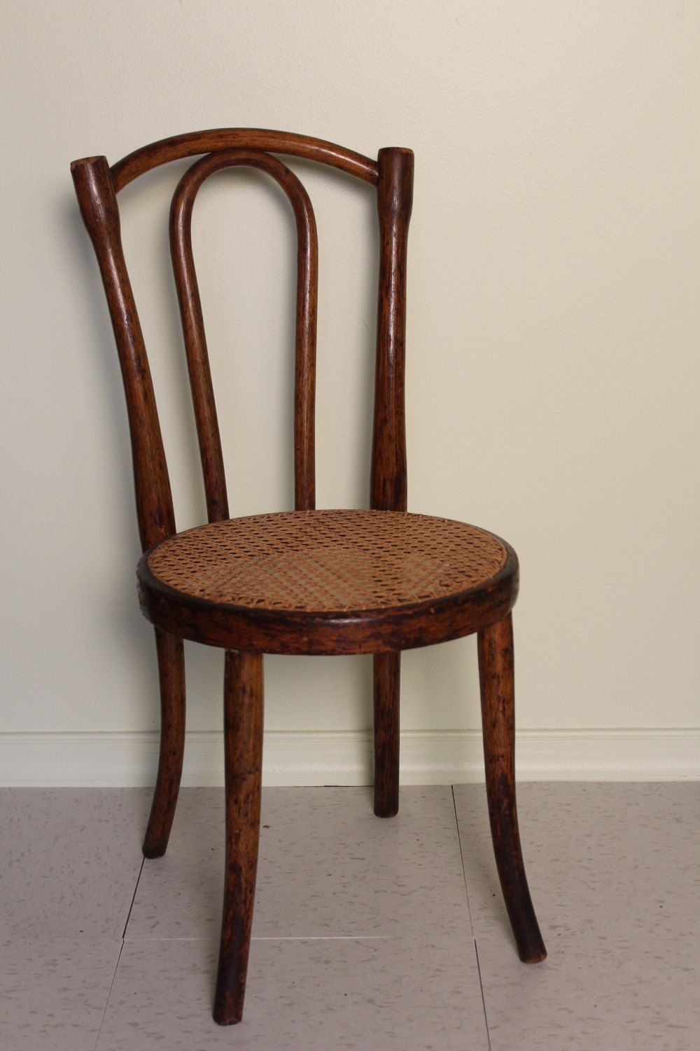 Perfect Childu0027s Bentwood Cane Chair By TimesOfCoalAndIron On Etsy