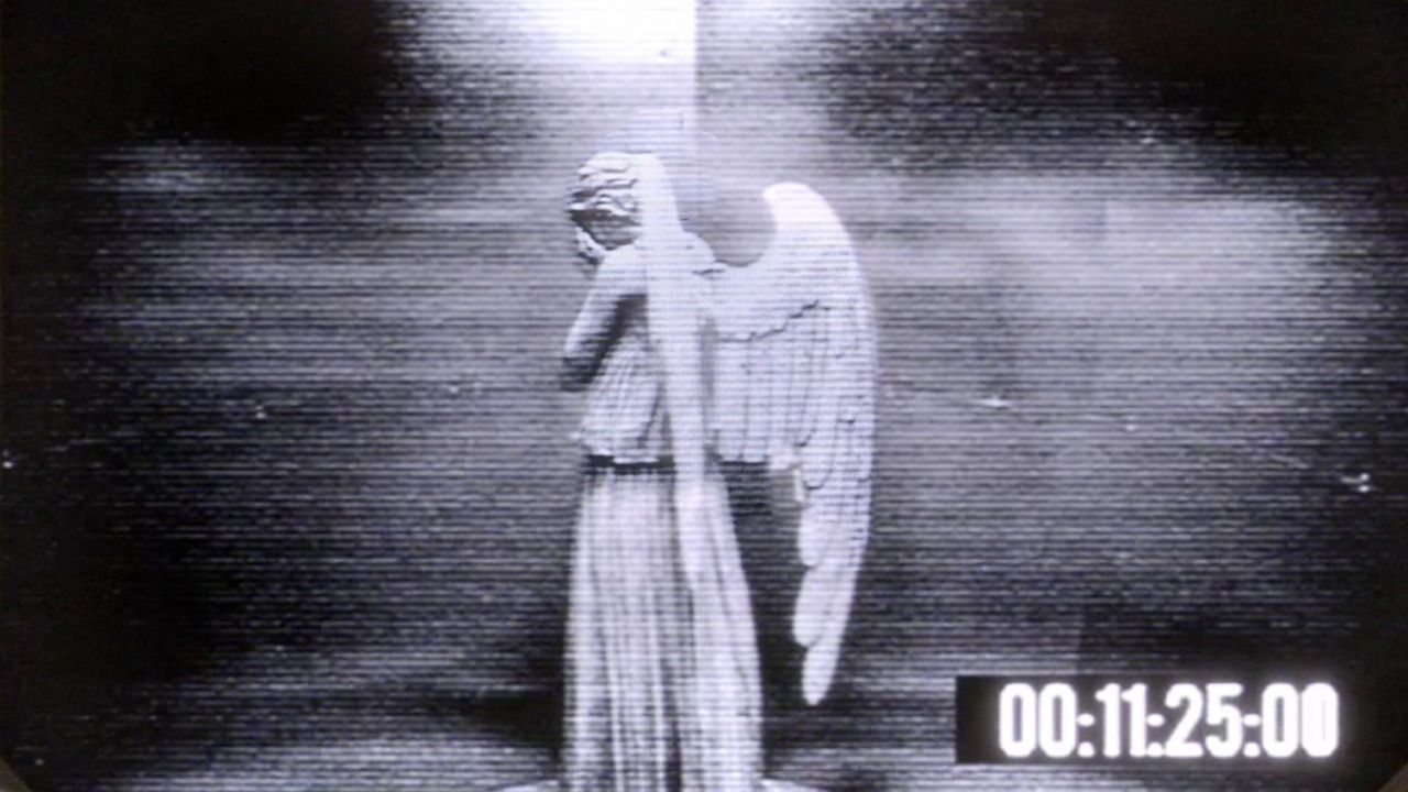 Doctor Who : The Time of Angels security camera footage ...