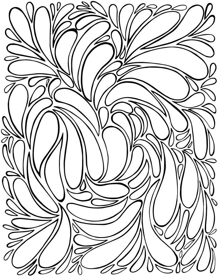 A FREE Coloring Page Just For You | Mandala para colorear, Colorear ...