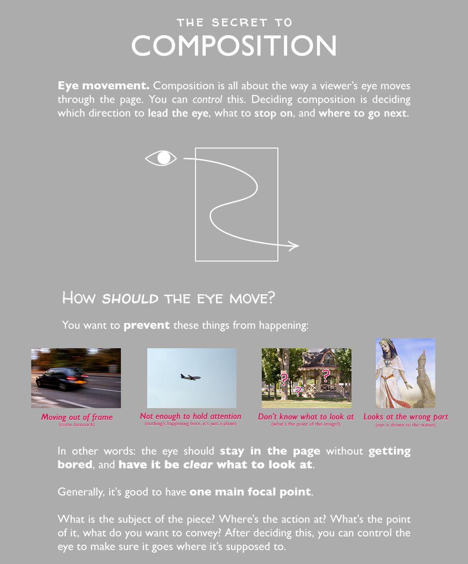 wannabeanimator: 'The Secret to Composition'... - cacaland