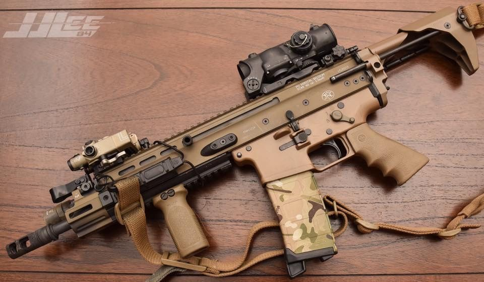shooter218: Nice SCAR PDW from JJLee's FB - | Ghost | Guns, Battle
