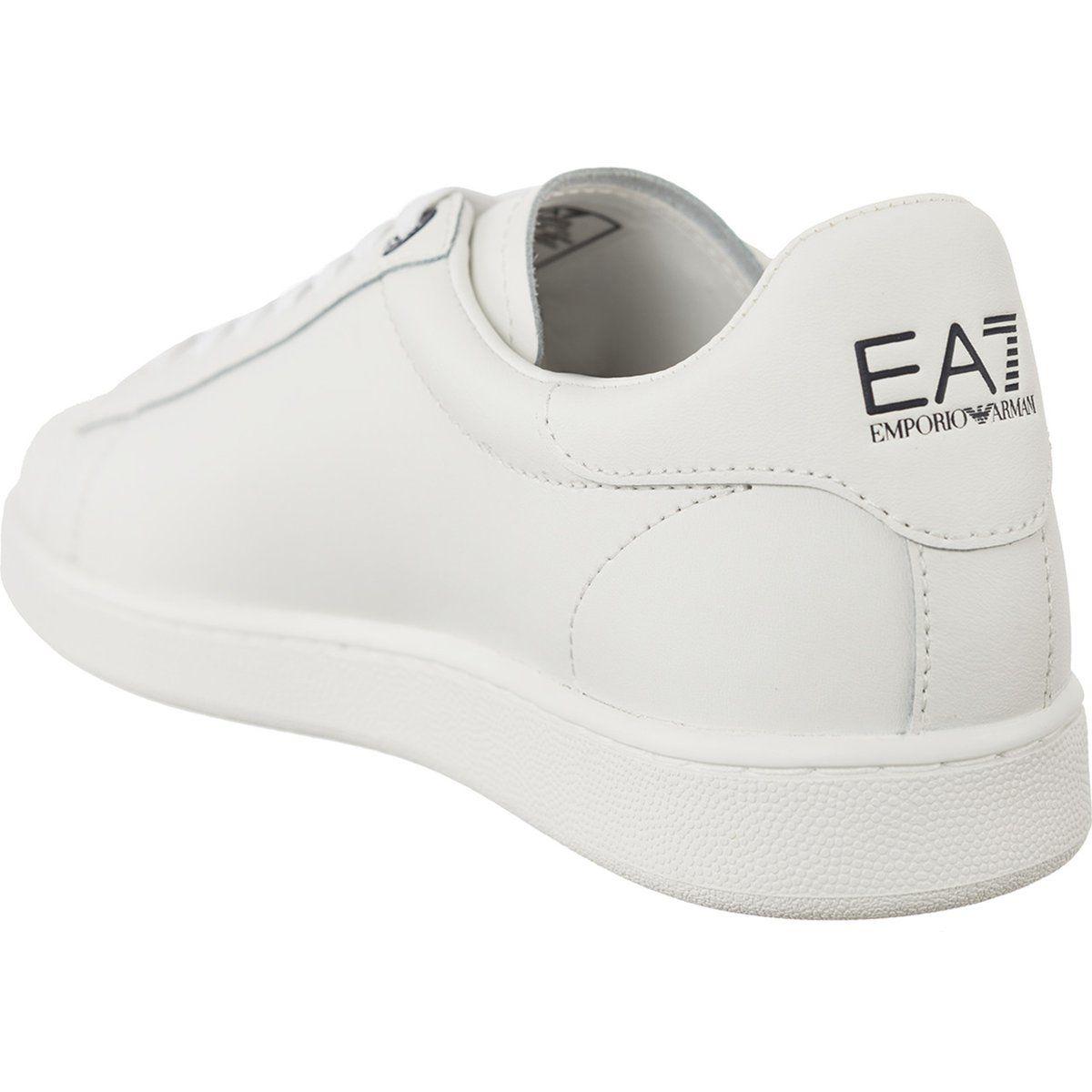 Trampki Meskie Ea7emporioarmani Ea7 Emporio Armani Biale Leather Sneaker 248028cc299 00010 Sneakers Leather Sneakers Slip On Sneaker