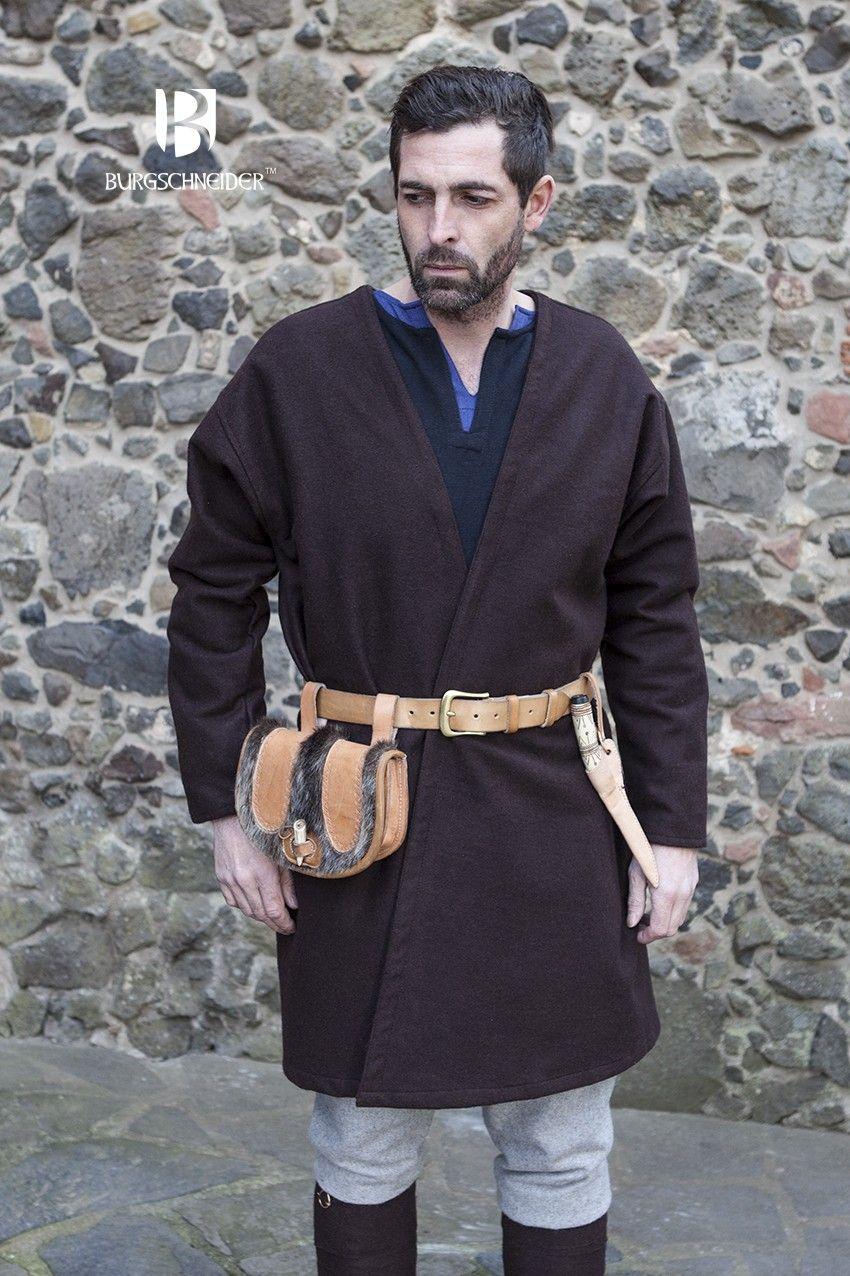 2e29890a0b62c Flap Coat Loki Brown | Empire - Ashenhall | Medieval clothing, Larp ...