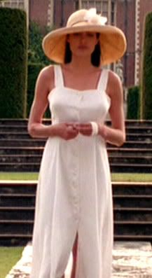 bd7651adffe3 Tomb Raider Costume Resource  Lara Croft - Tomb Raider Movie - White  Dress-----THAT HAT!!