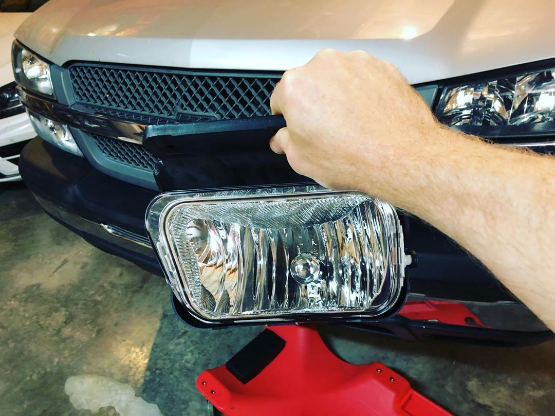 More Small Improvements And A Little Victory In That The Fog Light Housings Already Came With New Bulbs In Them New Cars Car Review Fiat Chrysler Automobiles