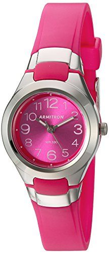 af666ca93622 Armitron Sport Women s 25 6418MAG Easy To Read Dial Magenta Resin Strap  Watch