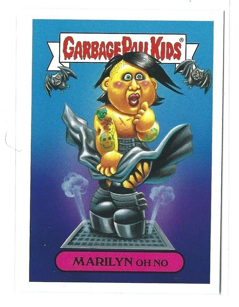 2017 Garbage Pail Kids Battle Of The Bands Marilyn Oh No 6a Gpk Botb Nm Topps Garbagepailkids In 2020 Garbage Pail Kids Cards Garbage Pail Kids Kids Series