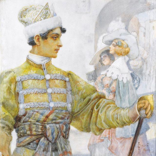 SERGEI  SOLOMKO (1867-1928),