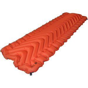 Klymit Insulated Static V Camping Pad Orange Amp Char Black