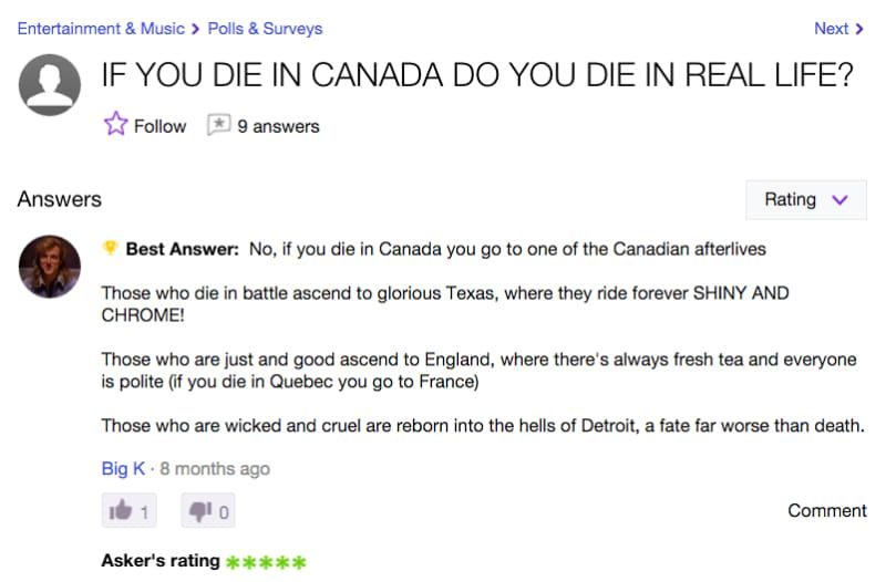 29 Strangely Hilarious Yahoo Answer Questions That Ll Make You Giggle Yahoo Answers This Or That Questions Hilarious