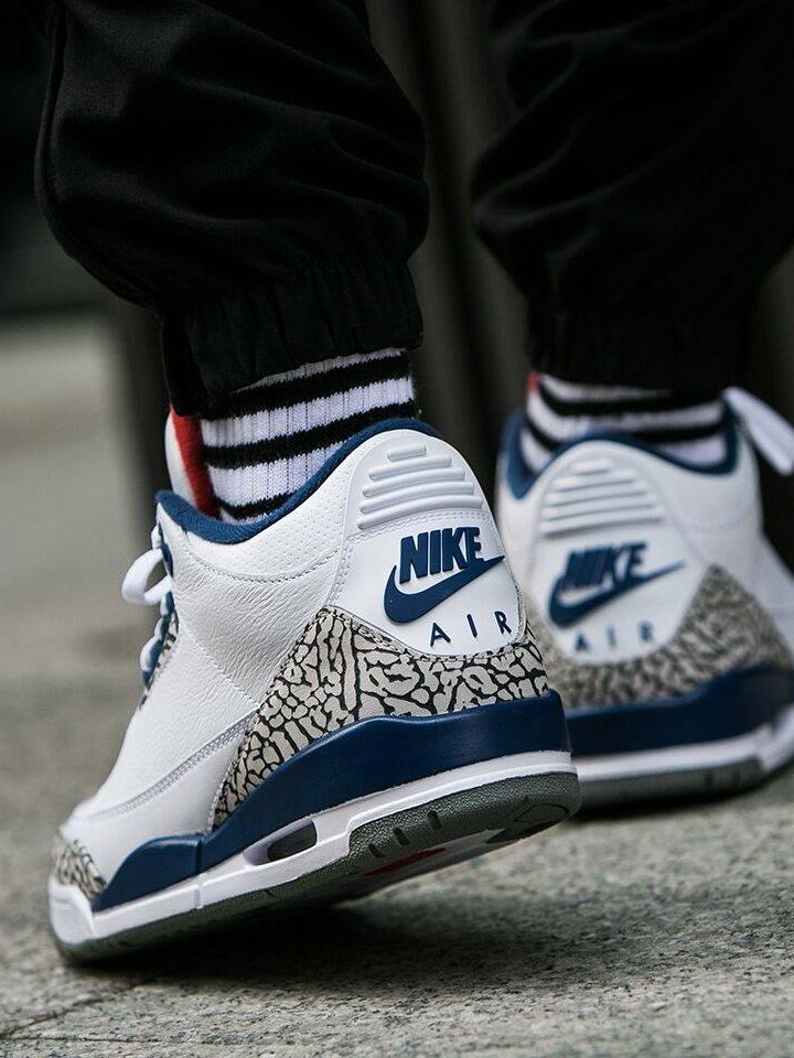 air jordan 3 og true blue clothing