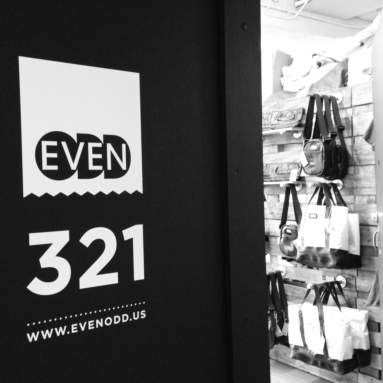 Our door is now official. www.evenodd.us