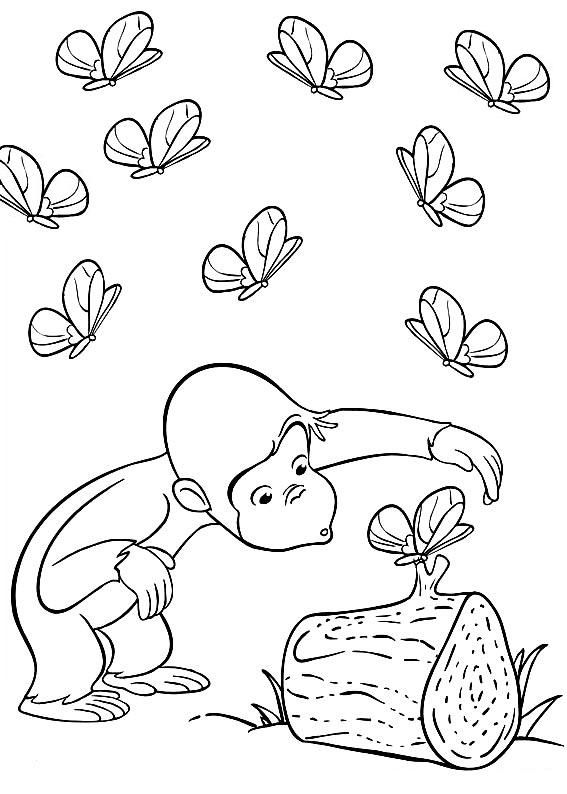 Curious George Crafts Advanced Color Pages Pinterest Curious