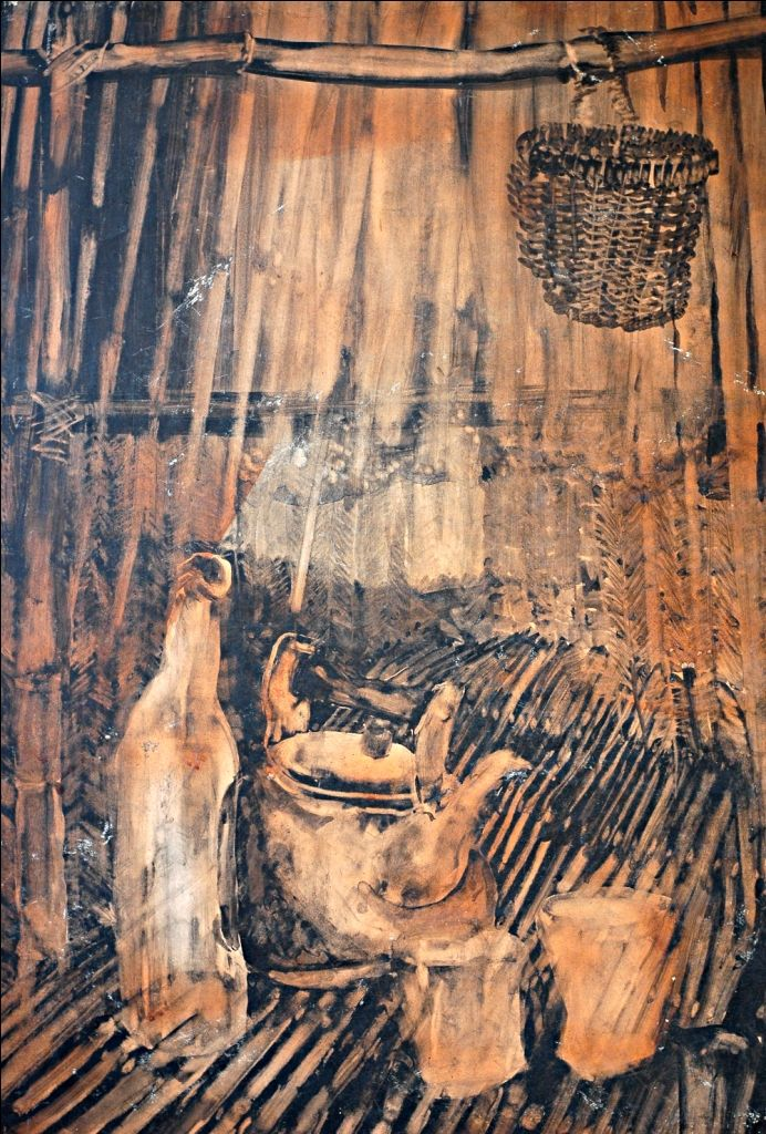 Onib Olmedo Native Kitchen Art Philippine Art Painting