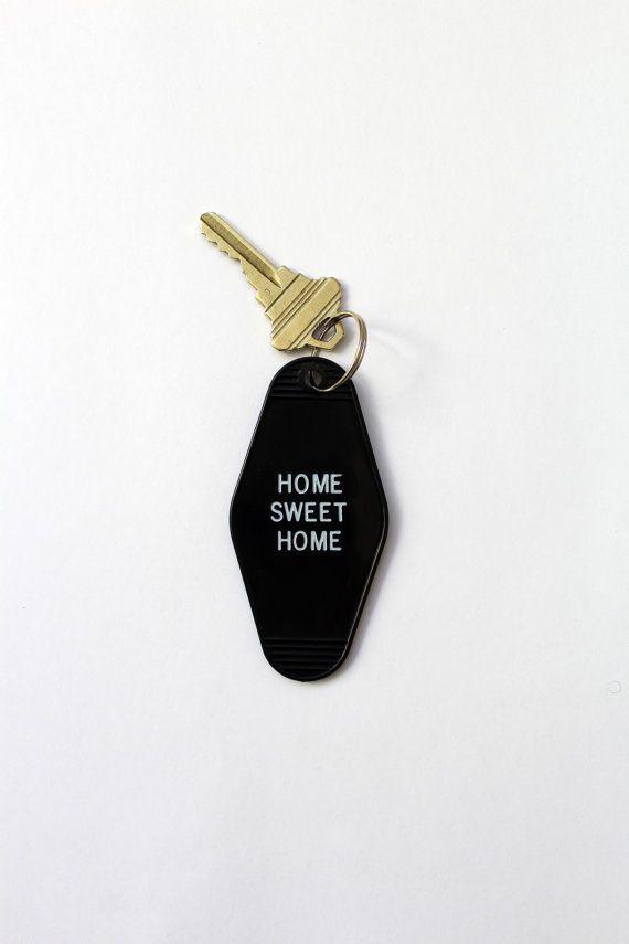 Home Sweet Home Key Tag Hotel Motel Classic Keychain Hotel Motel Home Tattoo Sweet Home