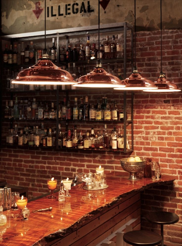 I Like The Idea Of The Bar/arcade Having A Brick Wall To Separate It