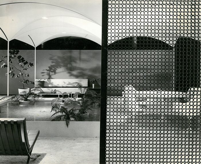 Knoll Showroom In Los Angeles California 1960