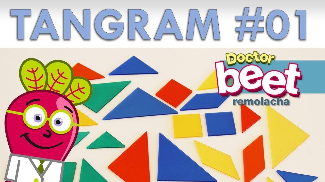 pin en tangram  figuras geométricas