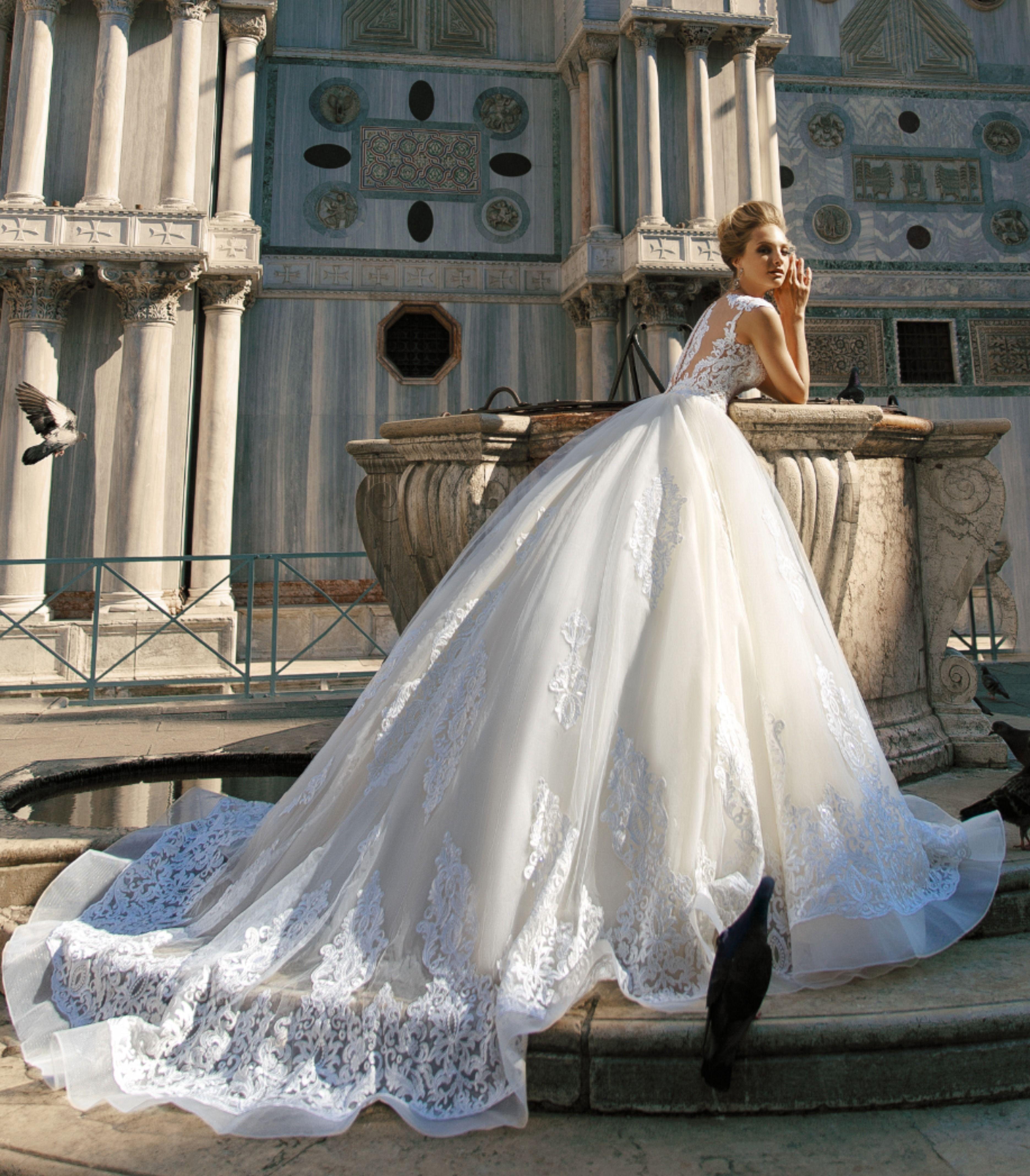 Callypso Ii Wedding Dress Italian Romance Collection Italian Wedding Dresses Wedding Dresses Lace Princess Wedding Dresses