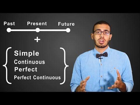أسهل طريقه لتعلم واتقان قواعد اللغه الانجليزيه في 6 ايام فقط Past Present Future Learn English Learning