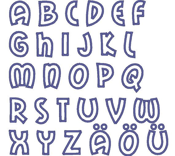 Cute Bubble Letters For I  Cute Letter Fonts Cosmic Cute Font