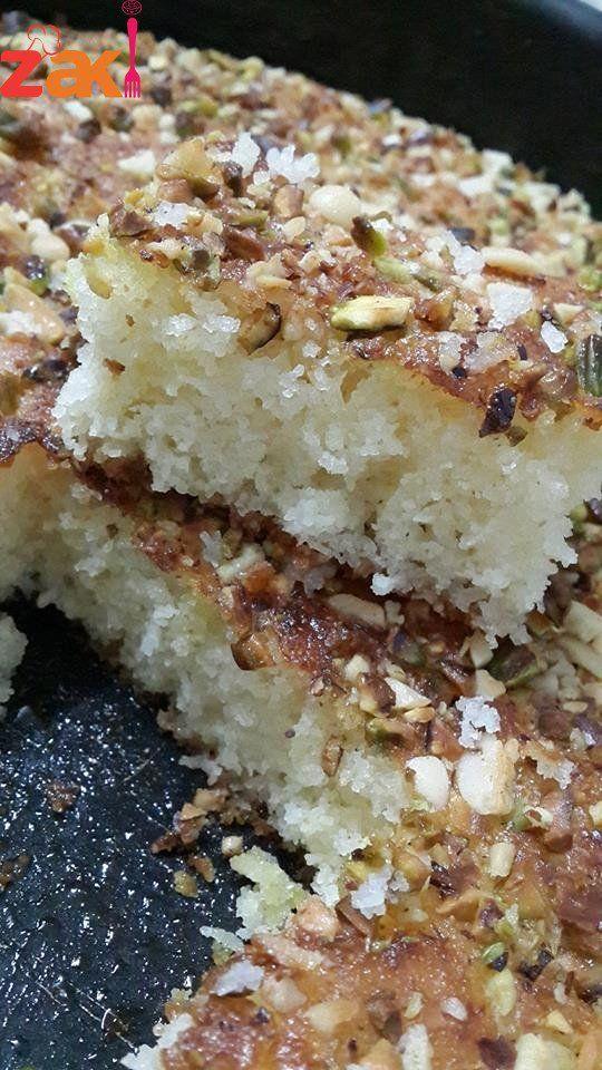 أنجح طريقة للبسبوسة معتمدة مليون بالمية احفظوها الان زاكي Ramadan Desserts Arabic Sweets Recipes Syrian Food