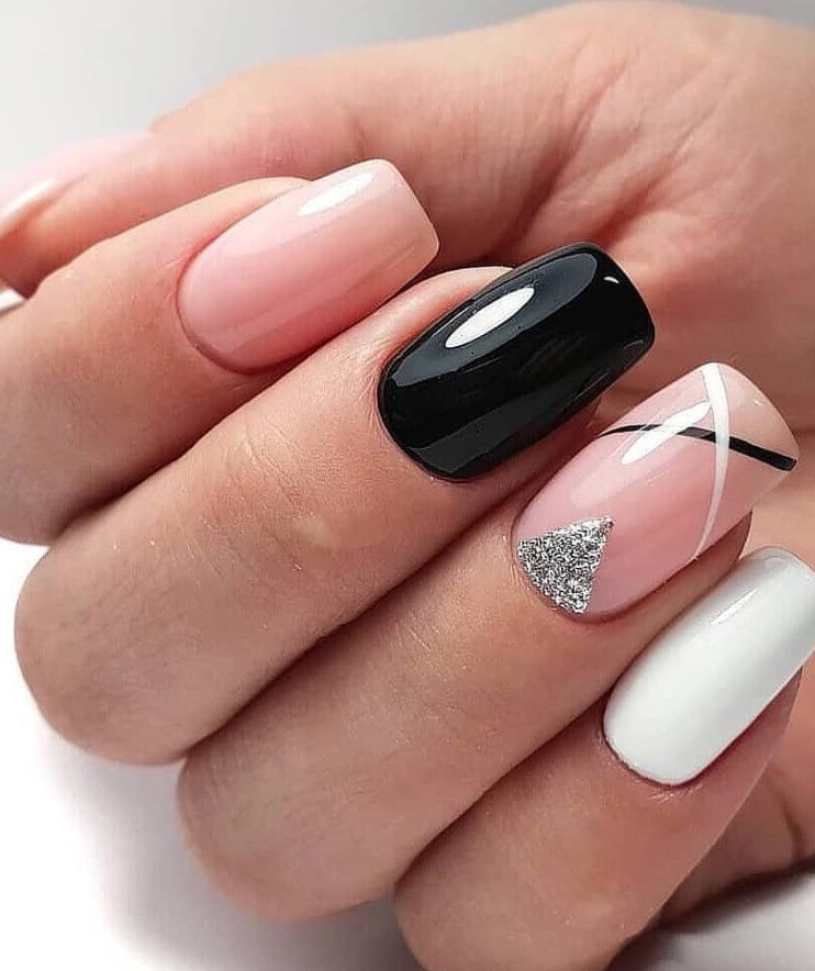 47 Stunning Short Square Nails Summer Design For Manicure Nails Square Nail Designs Short Square Nails Square Nails