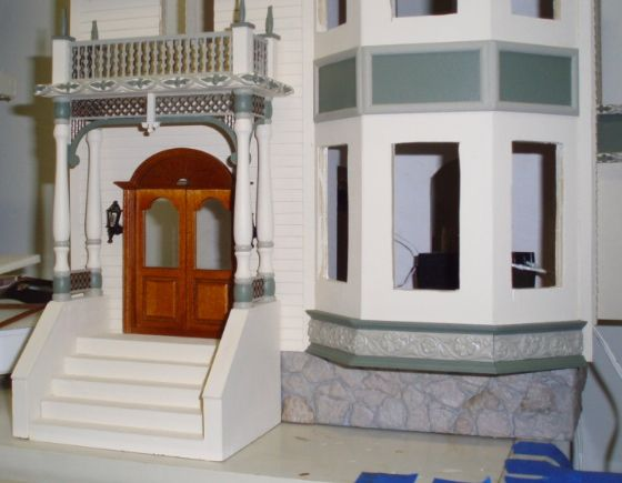 Queen Anne Dollhouse Paint Colors Queen Anne Rowhouse More