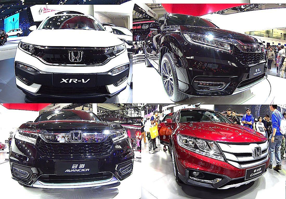 TOP 4 2016, 2017 Honda SUVs Honda Avancier, CRV, HRV, Crosstour, All new 2016, 2017 Honda SUVs