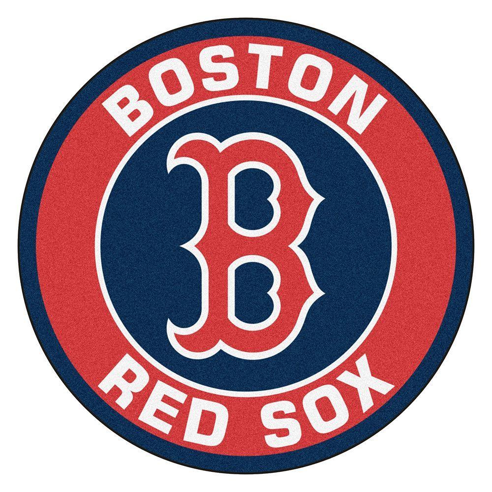 Boston Red Sox Round Floor Mat 29 Boston Red Sox Logo Red Sox Wallpaper Boston Red Sox Wallpaper